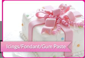 Icings/Fondant/Gum Paste